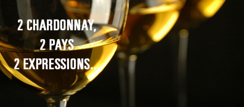 2 Chardonnay, 2 Pays, 2 expressions...