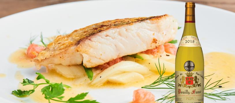 Spécialité du Val de Loire : Le brochet à la sauce beurre blanc