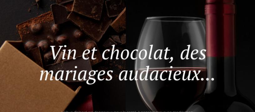 Vin & chocolat, un accord évident...
